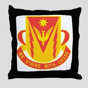 88th AAA Airborne Field Artillery Bat Throw Pillow