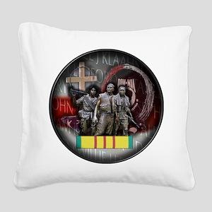 VT09 Square Canvas Pillow