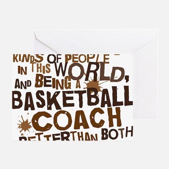 basketballcoachbrown Greeting Card