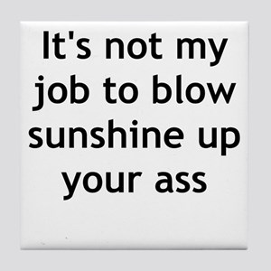 sunshine Tile Coaster