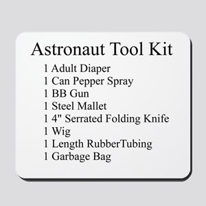 Astronaut Tool Kit Mousepad