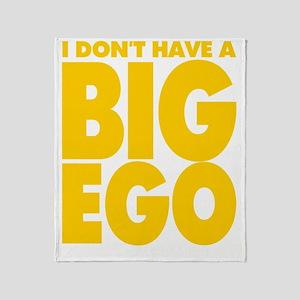 BIG EGO Throw Blanket