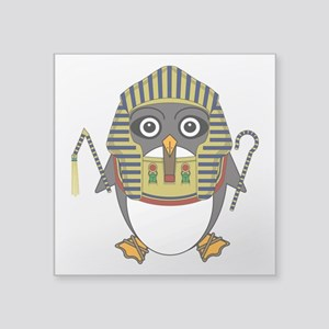 "Egyptguin Square Sticker 3"" x 3"""