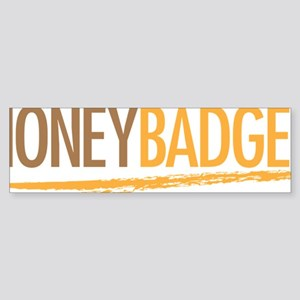 Honey Badger Sticker (Bumper)