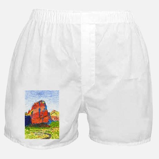 Zion: Angels Landing Boxer Shorts