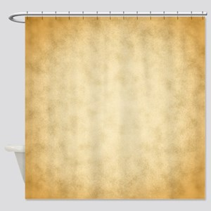 Vintage Paper Look Pattern Print. Shower Curtain