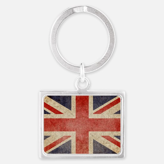 Faded UK Landscape Keychain