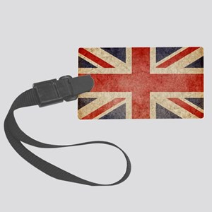 Faded UK Large Luggage Tag