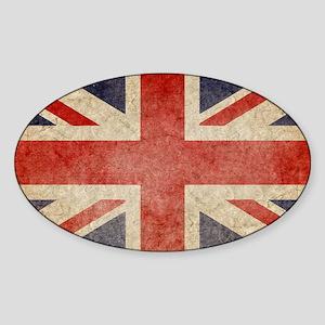 Faded UK Sticker (Oval)
