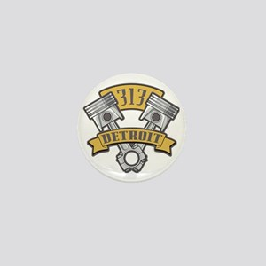 Piston Pride Logo Mini Button