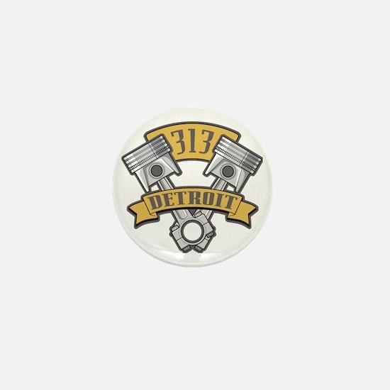 Piston Pride Logo Mini Button