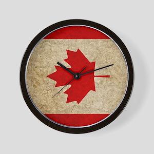 iPad Faded Canada Wall Clock