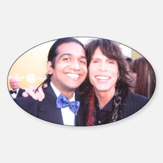 Anand Bhatt Grammy Sticker (Oval)