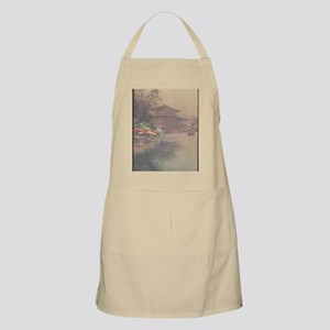 Ito-Kinkakuji-in-Rain-iPad 2-case Apron