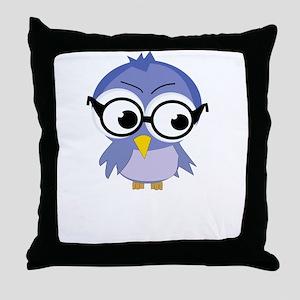 nerdybirdy2 Throw Pillow