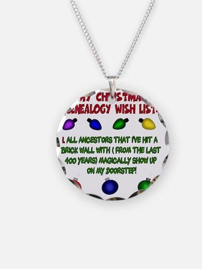 MYCHRISTMASgenwishlist2d Necklace