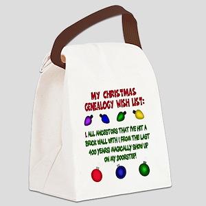 MYCHRISTMASgenwishlist2d Canvas Lunch Bag