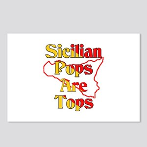 Sicilian Pops Are Tops Postcards (Package of 8)