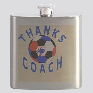 Soccer Coach Thank You Gift Magnet Flask