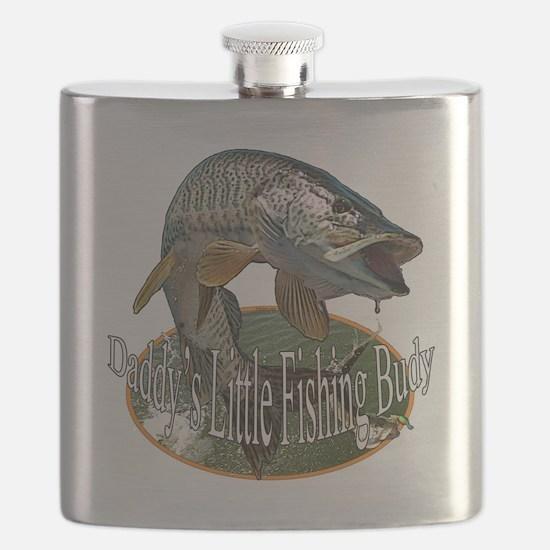 Musky fishing buddy Flask