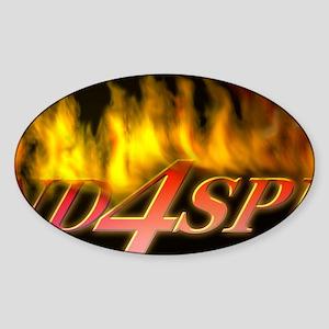 LicPlate-ND4SPD-Final Sticker (Oval)