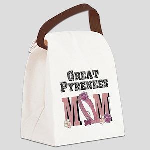 GreatPyreneesMOM Canvas Lunch Bag