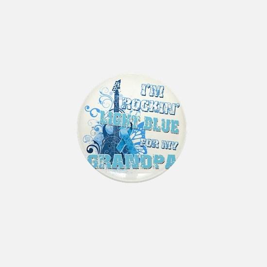 Im Rockin Light Blue for my Grandpa Mini Button