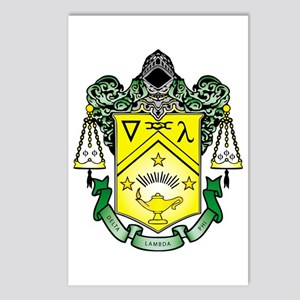 Crest Postcards (Package of 8)