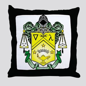 Crest Throw Pillow