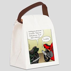 w_website 155 Baffled Bikes_CLR Canvas Lunch Bag