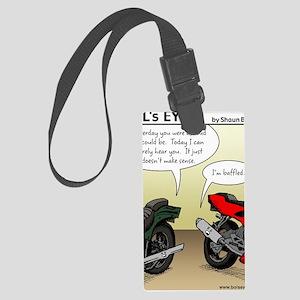 w_website 155 Baffled Bikes_CLR Large Luggage Tag