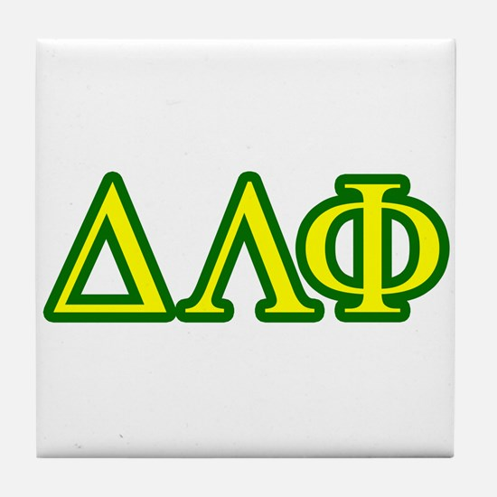 Brother Letters/Colors Tile Coaster