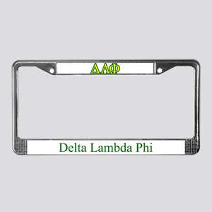 Brother Letters/Colors License Plate Frame