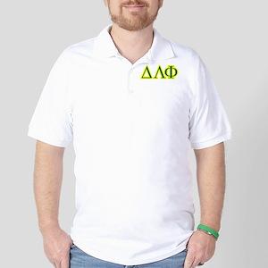 Pledge Letters/Colors Golf Shirt