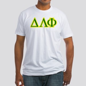 Pledge Letters/Colors Fitted T-Shirt