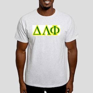 Pledge Letters/Colors Ash Grey T-Shirt