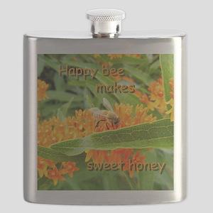 Happy bee Flask
