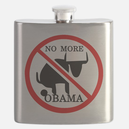 No More Obama Flask