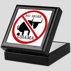 No More Obama Keepsake Box