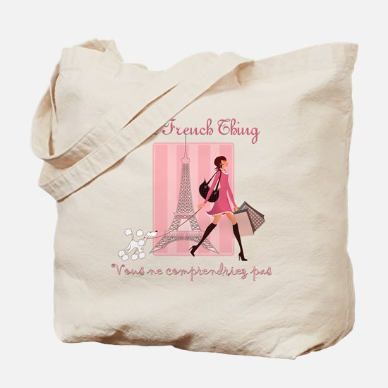French Thing dark Tote Bag