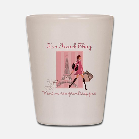 French Thing dark Shot Glass