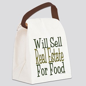 Will Sell Real Estate Canvas Lunch Bag
