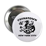 Chinatown New York City Button