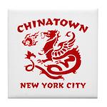 Chinatown New York City Tile Coaster