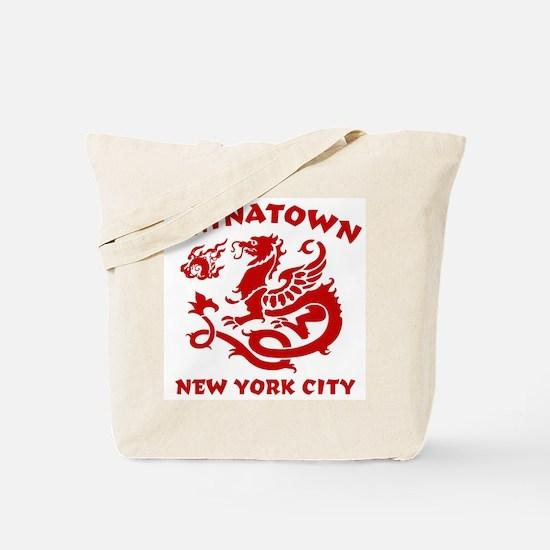 Chinatown New York City Tote Bag