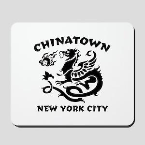 Chinatown New York City Mousepad