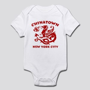 Chinatown New York City Infant Bodysuit