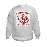 Chinatown New York City Kids Sweatshirt