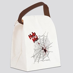 HelpMe! Canvas Lunch Bag