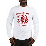 Chinatown New York City Long Sleeve T-Shirt
